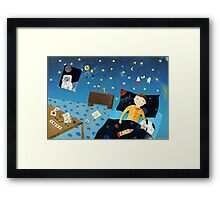 To The Stars II Framed Print