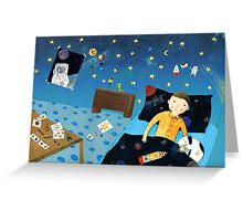 To The Stars II Greeting Card