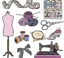 Vintage Haberdashery by Emily Cook