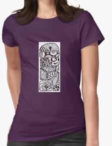 Pattern Tetris Collection Womens Fitted T-Shirt