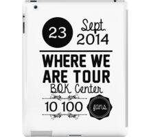 23th september - BQK Center WWAT iPad Case/Skin