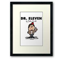 Dr Eleven Framed Print