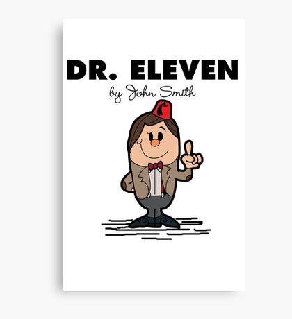Dr Eleven Canvas Print