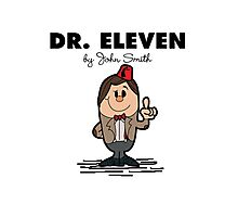 Dr Eleven Photographic Print