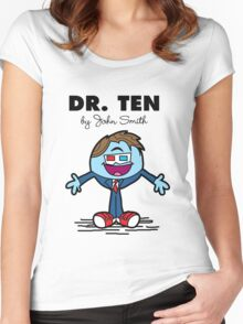 Dr Ten Women's Fitted Scoop T-Shirt