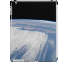 Heavy cloud cover over the Pacific Ocean. iPad Case/Skin
