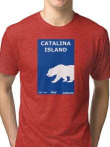Catalina Island - California. Tri-blend T-Shirt