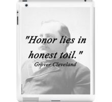 Honor - Grover Cleveland iPad Case/Skin