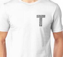 letter t Unisex T-Shirt