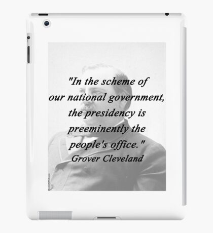 Presidency - Grover Cleveland iPad Case/Skin