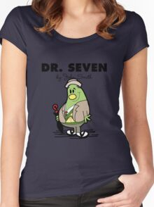 Dr Seven Women's Fitted Scoop T-Shirt