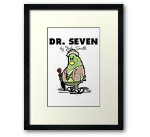 Dr Seven Framed Print