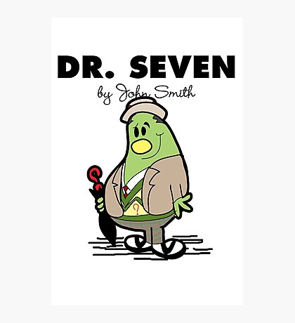 Dr Seven Photographic Print
