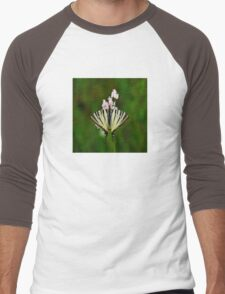 Scarce Swallowtail On Wild Garlic Flowers T-Shirt