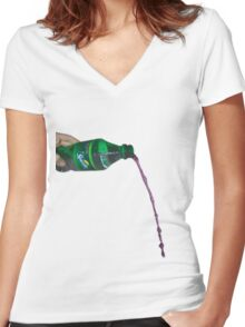 Lean Women's Fitted V-Neck T-Shirt
