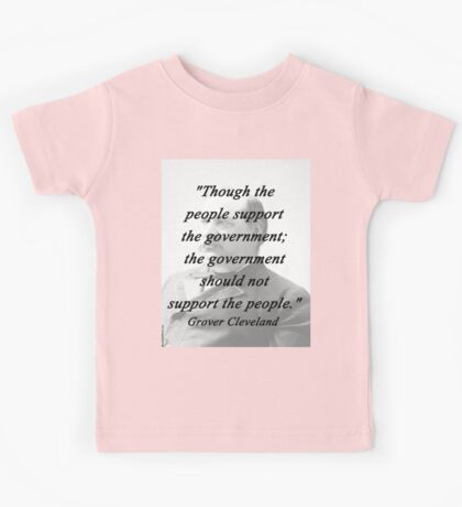 Support - Grover Cleveland Kids Tee
