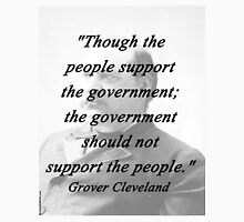 Support - Grover Cleveland Unisex T-Shirt
