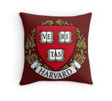 Harvard University Throw Pillow