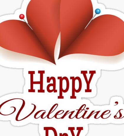 Valentines Day Card Sticker