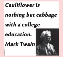 College Education - Mark Twain One Piece - Long Sleeve