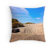 Keep Walking To Find Miracles Throw Pillow