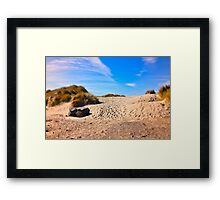 Keep Walking To Find Miracles Framed Print