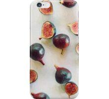 Fresh Figs on Linen iPhone Case/Skin