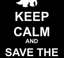 Keep Calm and save the quaggans by Laivine