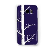 Trees on Ink Blue Samsung Galaxy Case/Skin
