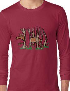 the elusive thylacine Long Sleeve T-Shirt