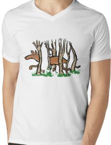 the elusive thylacine Mens V-Neck T-Shirt
