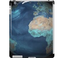Full Earth showing evaporation over the Atlantic Ocean and the surrounding continents. iPad Case/Skin