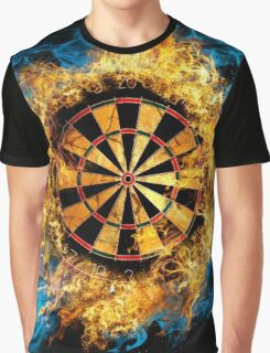 LETS PLAY DARTS Graphic T-Shirt