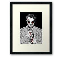 Matt Murdock - Daredevil Framed Print