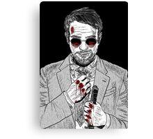 Matt Murdock - Daredevil Canvas Print