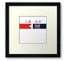 IAM Cycling Kit 2016 Framed Print