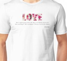 How Depp is your Love? Unisex T-Shirt