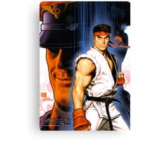 Ryu and Bison Canvas Print