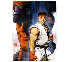 Ryu and Bison Poster