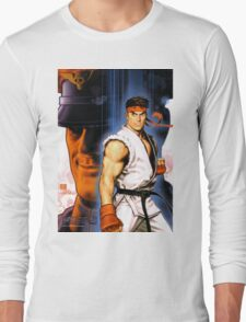 Ryu and Bison Long Sleeve T-Shirt