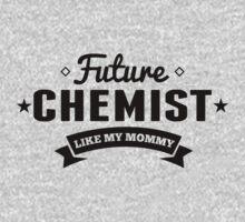Future Chemist Like My Mommy Kids Tee