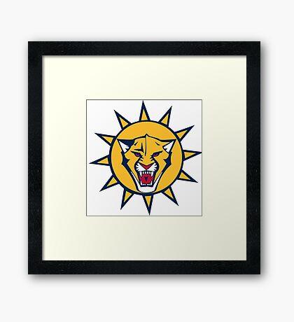 Florida Panthers NHL Logo Framed Print