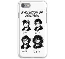 Evolution of Jontron iPhone Case/Skin