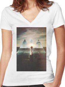 Fractions 17 Women's Fitted V-Neck T-Shirt