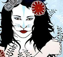Kitsune Girl by Simone Maynard