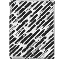 Grunge Brush Srokes Pattern Diagonal iPad Case/Skin