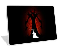 Samurai Jack vs Aku Laptop Skin