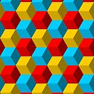 Hex pattern 2 by Smallbrainfield