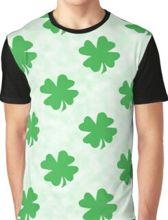Green irish four leaf clovers Graphic T-Shirt