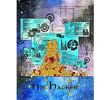 The Hacker Photographic Print